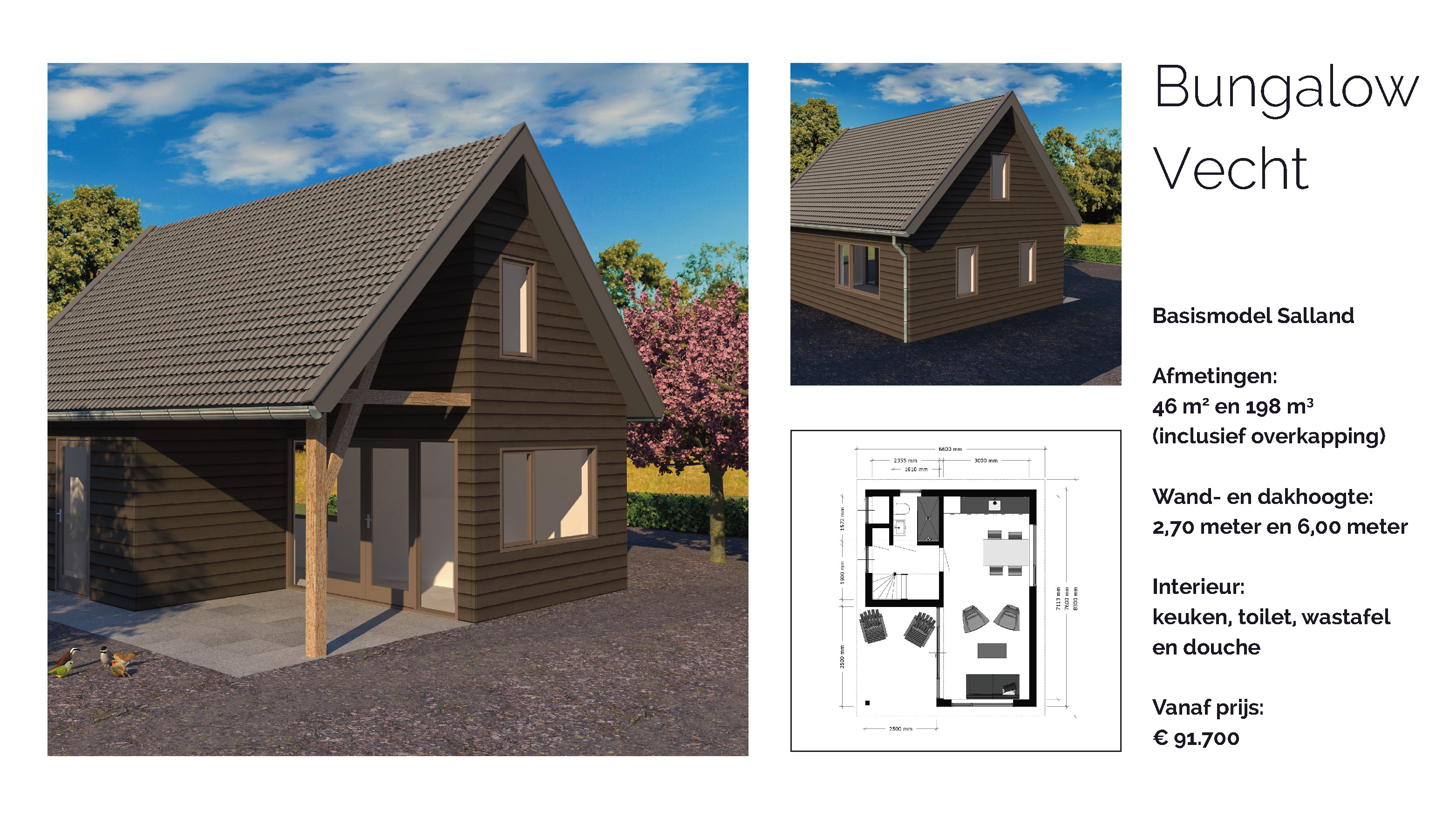 bungalows omgeving ommen